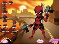 Fata Deadpool de Imbracat