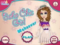 Fata cu Stilul Boho Chis