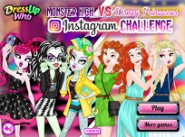 Fetele Monster High Vs Printesele Disney