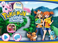 Fetele din Pokemon de Imbracat