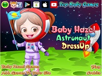 Fetita Hazel Astronaut de Imbracat