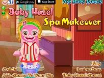 Fetita Hazel Distractie la Spa