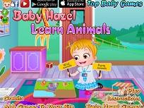 Fetita Hazel Invata Animalele