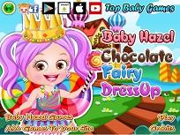 Fetita Hazel Zana Ciocolatei