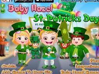 Fetita Hazel Ziua Sfantului Patrick