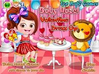 Fetita Hazel de Valentines Day