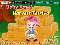 Fetita Hazel si Festivalul Recoltei