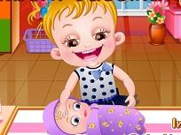 Fetita Hazel si Fratiorul la Vaccin