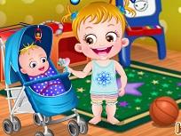 Fetita Hazel si Bebelusul Matt