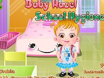 Fetita Hazel si Igiena