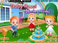 Fetita Hazel si Primavara