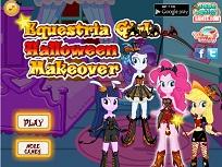 Fetitele Ponei de Halloween