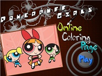 Fetitele Powerpuff de Colorat