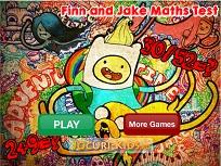 Finn si Jake Testul de Matematica