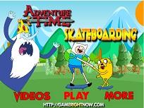 Finn si Jake pe Skateboard