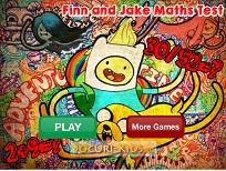 Finn si Jake Exercitii de Matematica