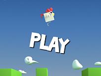 Flappy Chicken 3d