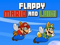 Flappy Mario si Luigi