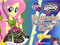 Fluttershy Stilul Curcubeului
