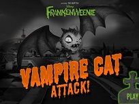 Frakenweenie si Pisica Vampir