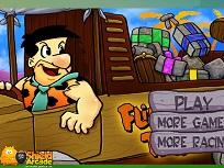 Fred Flintstone cu Camionul