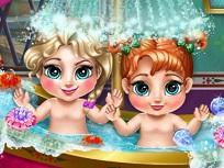 Elsa si Anna Bebelusi Fac Baie