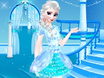 Elsa de Imbracat Pentru Petrecere