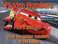 Fulger McQueen Numere Ascunse
