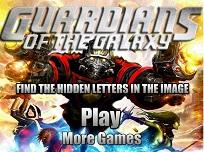 Gardienii Galaxiei si Literele Ascunse
