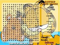 Garfield Cauta Cuvintele