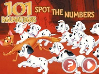 Gaseste Numerele cu 101 Dalmatinei
