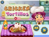 Gateste Tortillas cu Pui