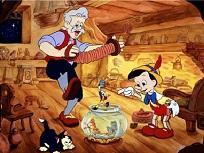 Puzzle cu Gepetto si Micul Pinocchio