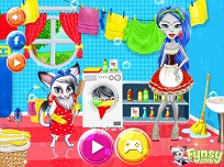 Ghoulia Yelps Face Curatenie