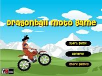 Goku pe Motocicleta