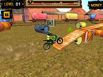 Gold Trials cu Motocicleta 3D