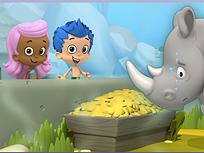 Bubble Guppies si Rinocerul