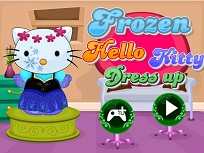 Hello Kitty Costumul FRozen