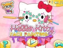 Hello Kitty si Picturile pe Fata