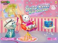 Hello Kitty la Doctorul de Urechi