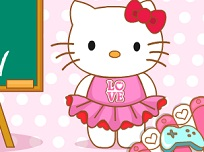 Hello Kitty la Scoala