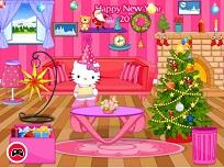 Hello Kitty si Decorul de Anul Nou