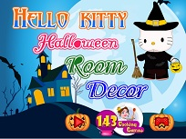 Hello Kitty si Decorul de Halloween