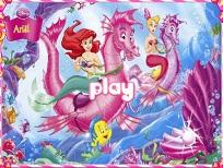 Hexa Puzzle cu Printesa Ariel