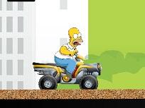 Homer Simpson pe ATV