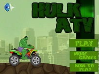 Hulk cu Atv-ul