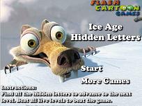 Ice Age Literele Ascunse