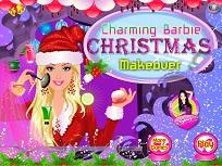 Incantatoarea Barbie si Machiajul de Craciun