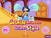 Jasmine Stilul Winx