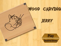 Jerry Sculpteaza in Lemn